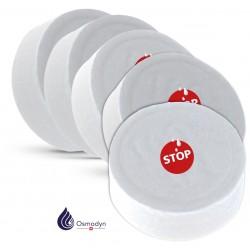Lot 5 pastilles recharge coupe circuit d'eau