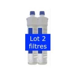 Lot 2 filtres charbon actif coco 5 microns