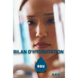 Bilan d'hydratation