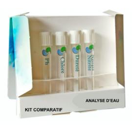 Kit comparatif d'analyse d'eau