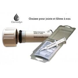 Graisse pour joint de filtre à eau