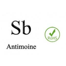 Electrode Antimoine Sb