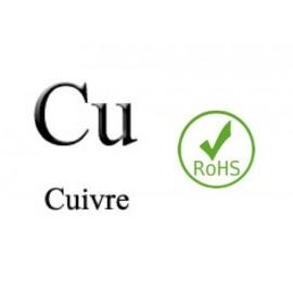 Electrode Cuivre, Cu