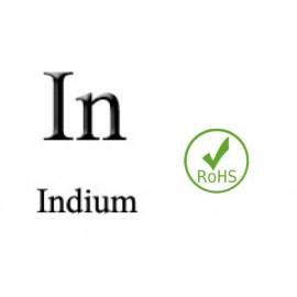 Electrode Indium, In