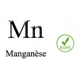 Electrode Manganèse, Mn