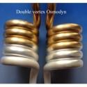 """∅ 1/4"""" ∅ 3/8 Double vortex"""