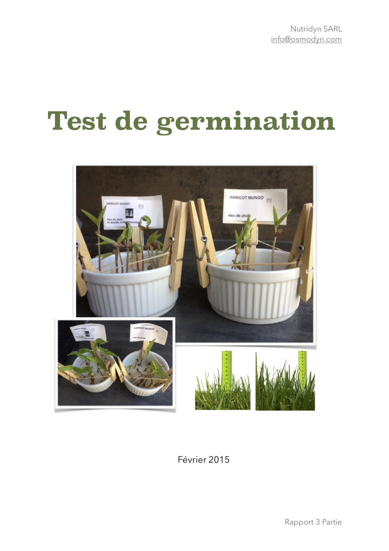 Osmodyn Test germination