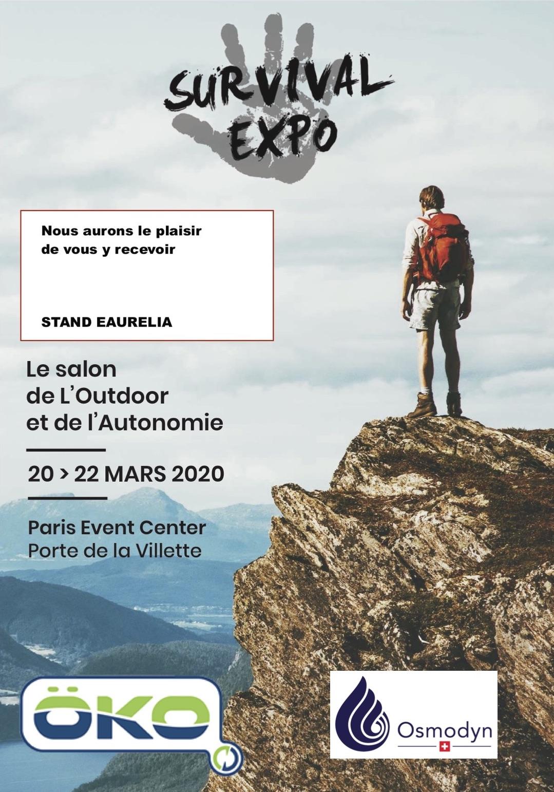 Survival 2020 Salon de l'outdoor et de l'autonomie Osmodyn Öko