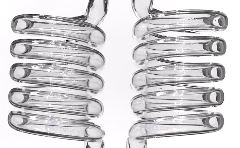 Double vortex verre